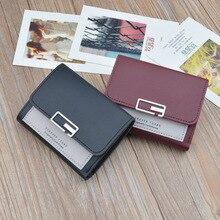 Women's Wallet Leather Small Luxury Brand Wallet Women Short Zipper Ladies Coin Purse Card Holder Billetera Mujer цена 2017