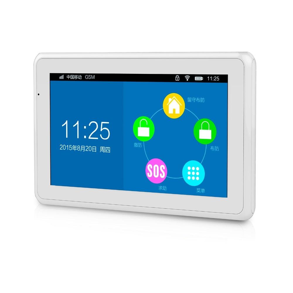 DIY Home Security Wireless Alarm System - Kerui K7 Upgrade-B Kit 1
