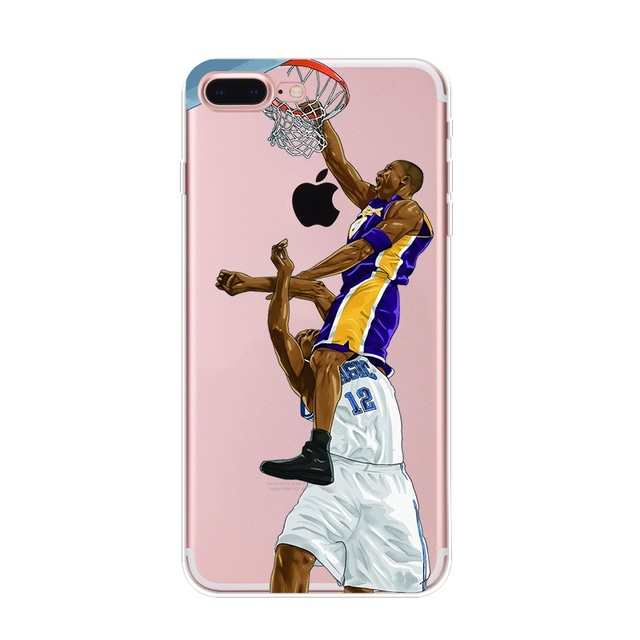 Basketball Star Phone Cases For iPhone 5, 6/6 Plus, 7/ 7 Plus, 8/8 Plus