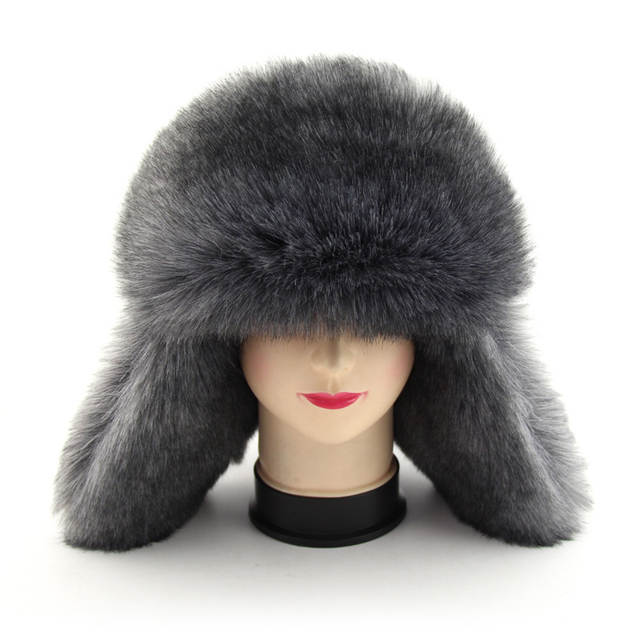 placeholder BFDADI 2018 New Arrival Men women Hat Best Fashion Russian  Winter Warm Ear Flaps Bomber Hats 585a07028465