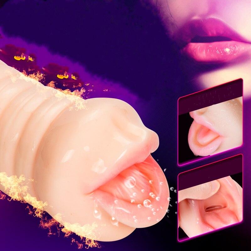 Realistic 4D Vagina Masturbator Deep Throat Male Masturbator Silicone Artificial Vagina Mouth Anal Erotic Oral Sex Toys for MenRealistic 4D Vagina Masturbator Deep Throat Male Masturbator Silicone Artificial Vagina Mouth Anal Erotic Oral Sex Toys for Men