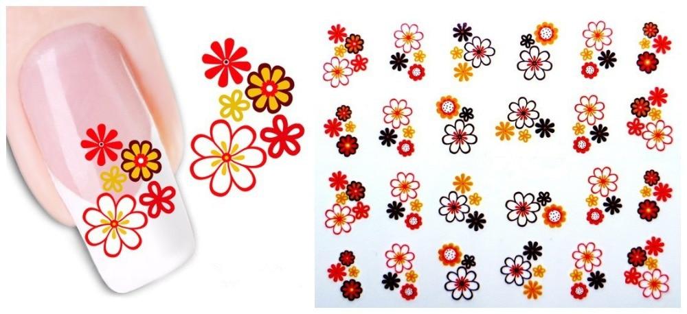 Stikers para decorar uñas 2017