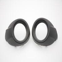 2 Pcs Pair RH And LH Fog Lamp Bezels Front Bumper Fog Light Covers For Ford
