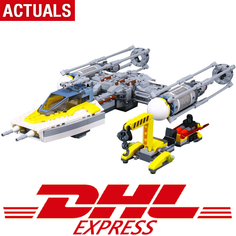 New 05065 691Pcs Star Toys Wars The Legoing 75172 Y-Wing Star fighter Model Building Blocks Bricks Kids Toys As Christmas Gifts fashion star wars toys for kids high quality plastic action figures baby milo bape model dolls brand gifts myj001