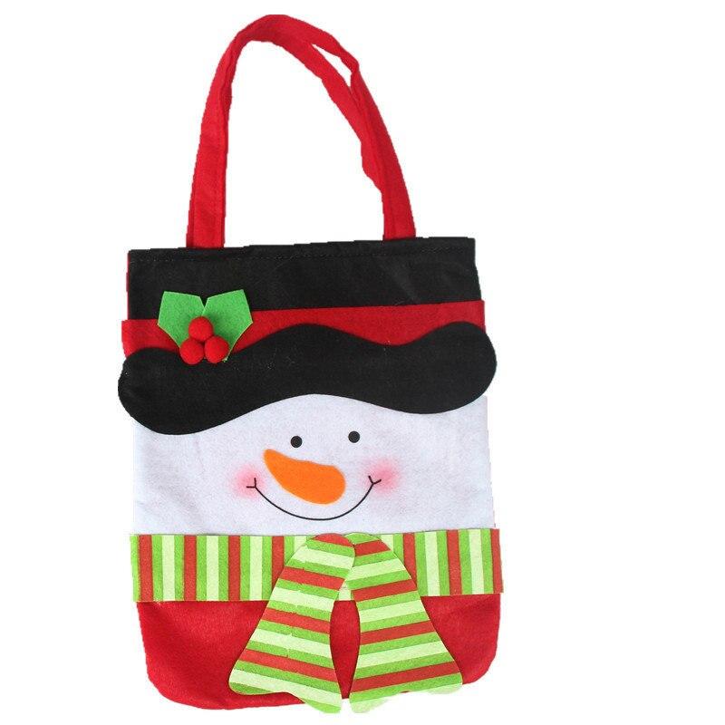 Nueva. [lindo para que de niño] bolsa de bolsa de regalo de Navidad de Santa Cla