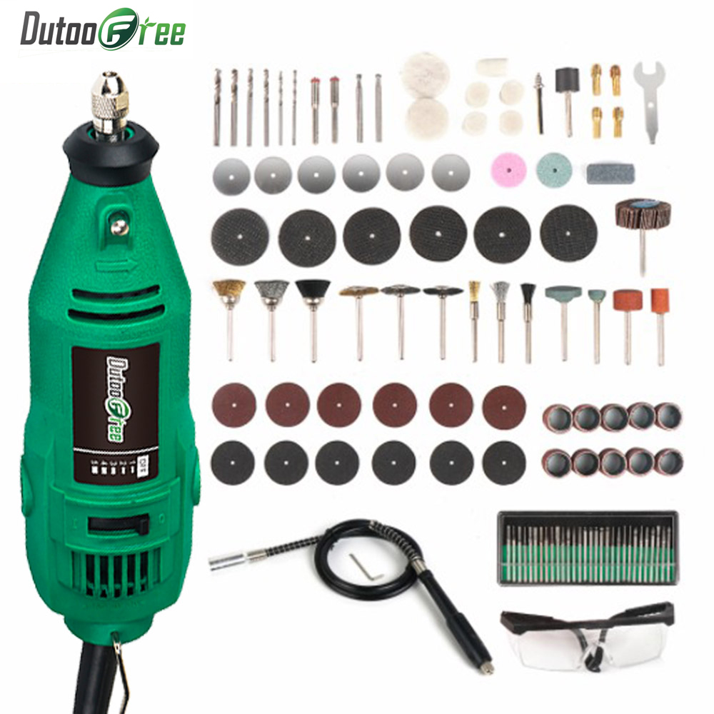 Dutoofree Dremel Style Engraving Pen Electric Drill Grinder Mini DIY Rotary Tool Grinding Machine