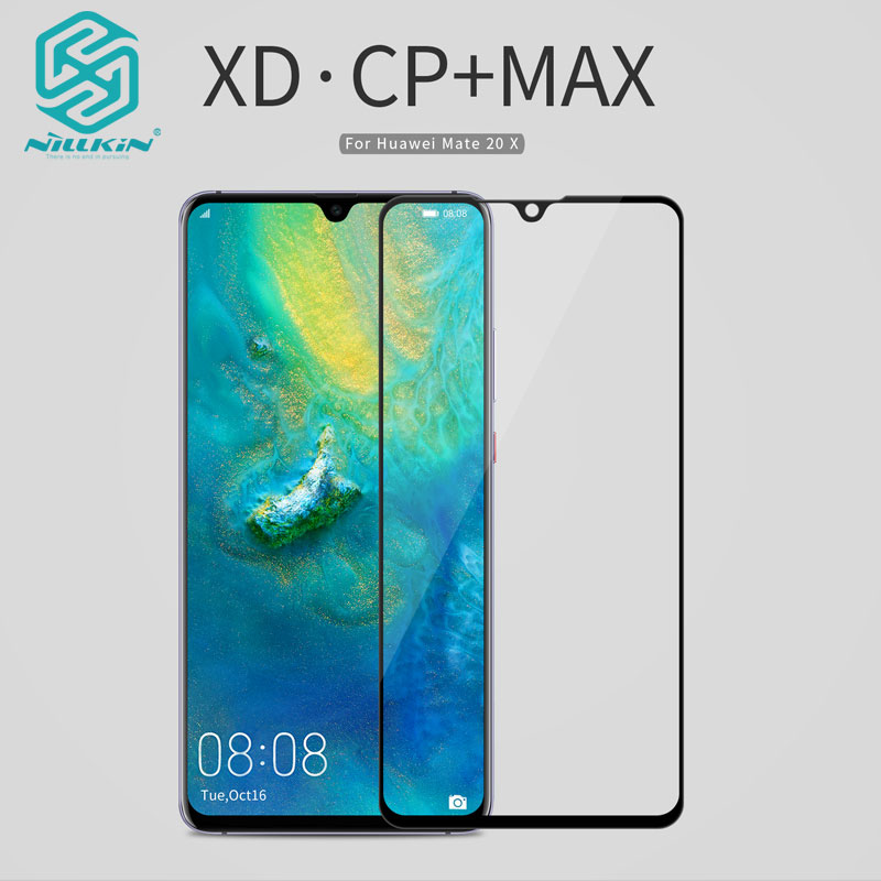 Huawei Mate 20 X Tempered Glass Nillkin XD CP+MAX Anti Glare Safety Protective Screen Protector Glass For Huawei Mate 20 XHuawei Mate 20 X Tempered Glass Nillkin XD CP+MAX Anti Glare Safety Protective Screen Protector Glass For Huawei Mate 20 X