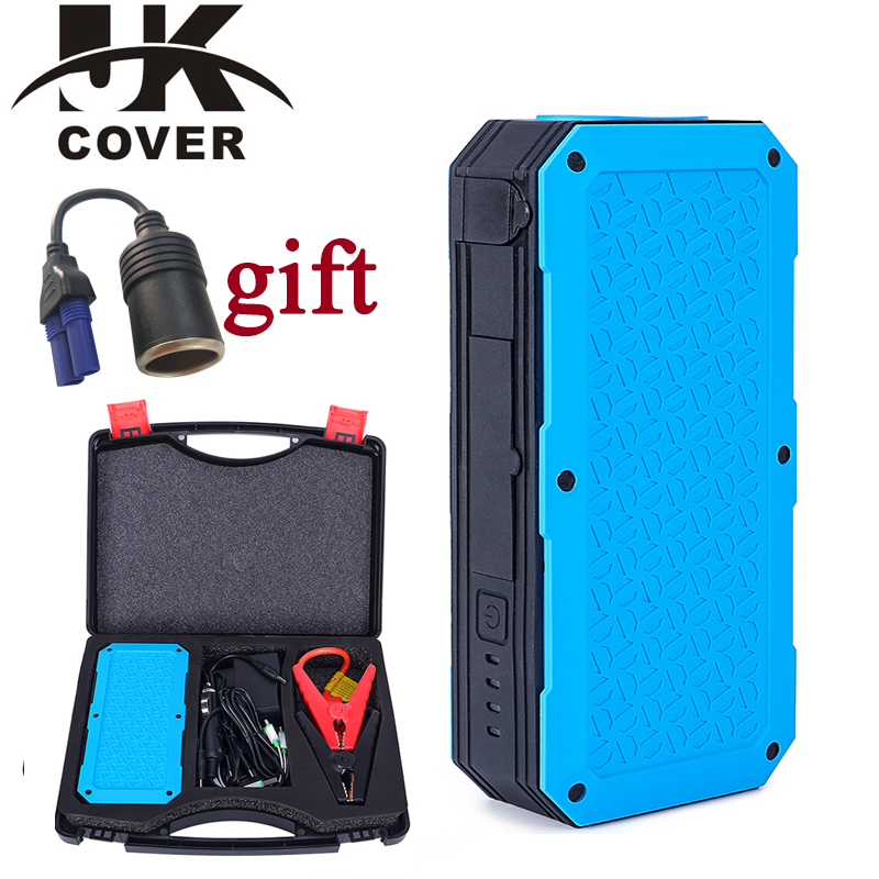 JKCOVER 600A Peak Current Emergency 12V Car Battery Jump Starter Booster 26000mAh Power Bank Multi-function Car Jump Starter ботинки bata bata ba060awxaa47
