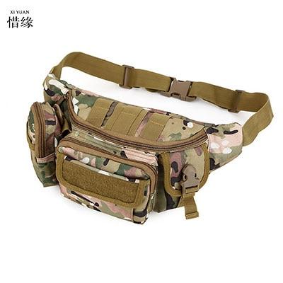 XI YUAN BRAND mens multifunction Khaki travel bags funny chest pack men waist pack hiqh quality men BLACK waist bag BOY GIFTS