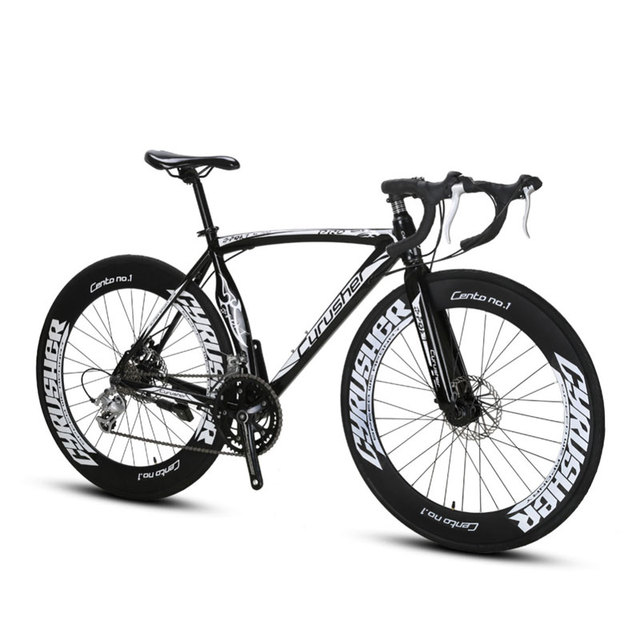 Cyrusher XC700 спортивный гоночный мотоцикл 16 со скоростью 700C 54/56 см свет Алюминий кадр Pro Мужской дорожный велосипед механические дисковые тормоза