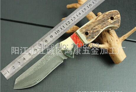 58HRC Celestial Knight Small Straight Keel Tool font b Knives b font Outdoor Wild Jungle Survival