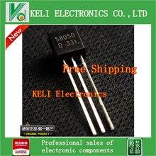 Бесплатная доставка 100 ШТ./ЛОТ S8050 8050 NPN Транзисторы TO-92 100% НОВЫЕ Оригинальные