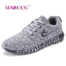 Maikoou Fashion Plus size 45 46 47 Men casual shoes Spring 2017 New trainers Men shoes Breathable zapatillas deportivas hombre