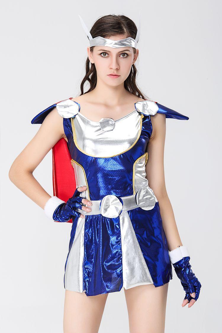 Popular Thor Halloween Costume Women-Buy Cheap Thor Halloween ...
