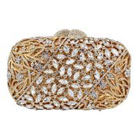 Diamond Designer Clutch HandBag Women Dinner Party Purse Ladies Wedding Bridal Bags Evening Bags A501