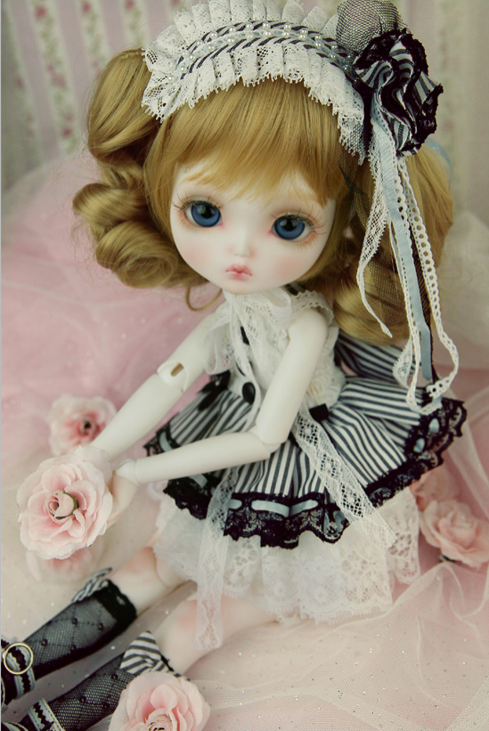 BJD Doll 1/- leeke Clarice Joint Doll Free Eyes цена