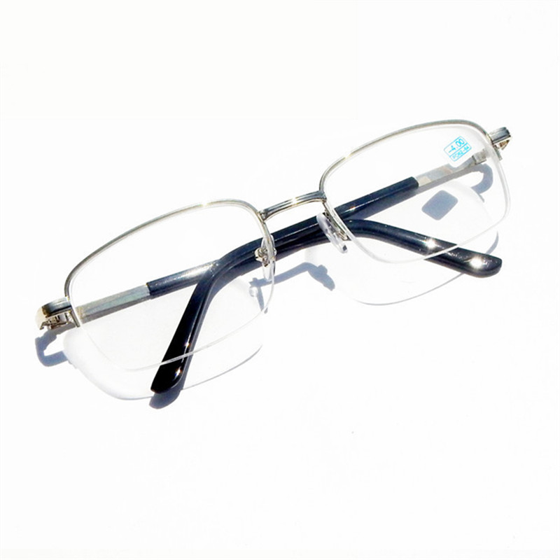 UVLAIK  Shortsightedness Eyewear For Student Men Women   Shortsighted Spectacles Business Half Frame Nearsighted Eyeglasses 1633