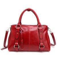 PASTE 2017Latest Women Genuine Leather Handbag Female Leisure Casual Lady Crossbody Shoulder Bag Messenger Top Handle