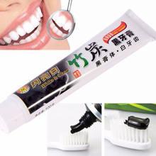 Nova Venda Quente 100g de Carvão de Bambu para Todos Os Fins-Teeth Whitening Dental Creme Dental Preto