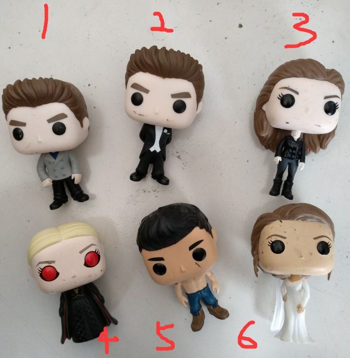 Funko POP Secondhand The Twilight Saga - Edward Bella Jacob Jane Vinyl Action Figure Collectible Model Toy Cheap No Box ...