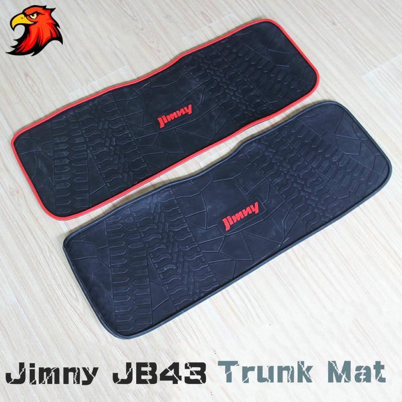 Trunk Mat For Suzuki Jimny Rubber Cargo Floor Jimn Water Proof