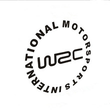 Modified Car Stickers Word Letter WRC World Car Rally Stickers Universal oil Tank Cover Car Sticker CT2136