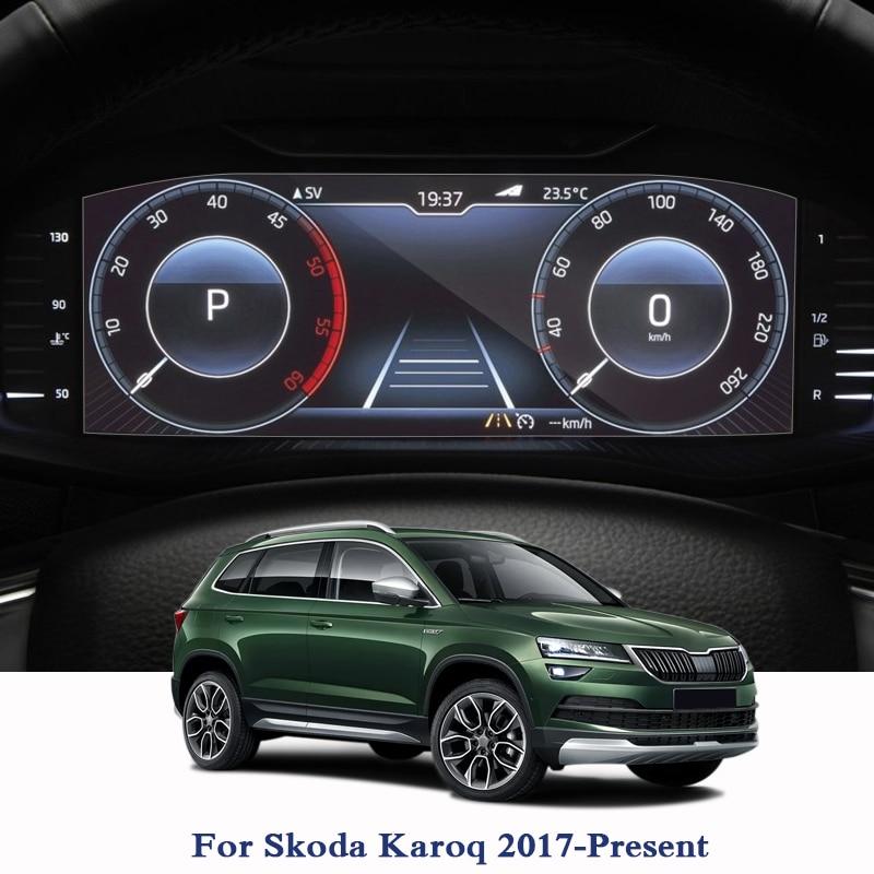For Skoda Karoq 2017-Present GPS Navigation Screen Glass Protective Film Dashboard Display Protective Film Internal Accessories