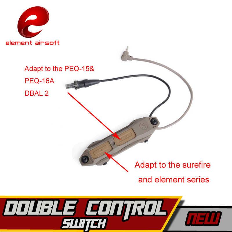 Element Surefir M952V, linterna de caza, IR, láser, linterna Led, DBAL-D2 Softair wapens, interruptor de doble Control, luces tácticas de arma