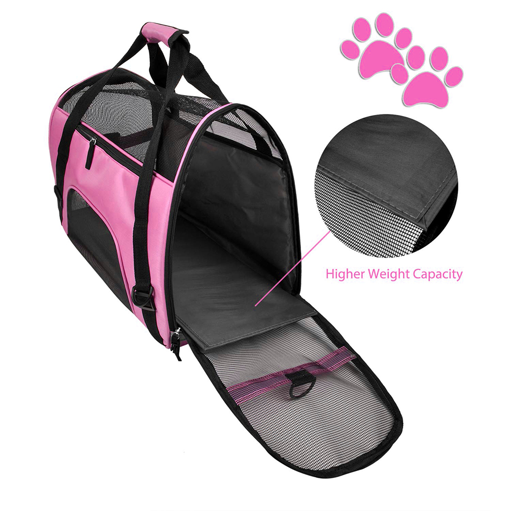 Travel Small Dog Backpack Carrier Handbag 2