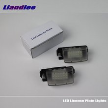 Liandlee For Nissan Tiida / Versa Hatchback / Latio Hatchback Car License Plate Light Number Frame Lamp High Quality LED Lights цена и фото