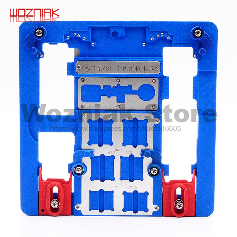 Wozniak A21+ A22 A23 High temperature resistance Fixture Motherboard CPU Fixed maintenance for iphone 5S 6 6P 6S 6SP 7 7P 8 8P tivoli audio songbook green sbgrn