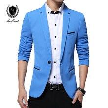 Terno подходящие уменьшают blazer вскользь masculino свадебное пиджаки куртки марка мужской