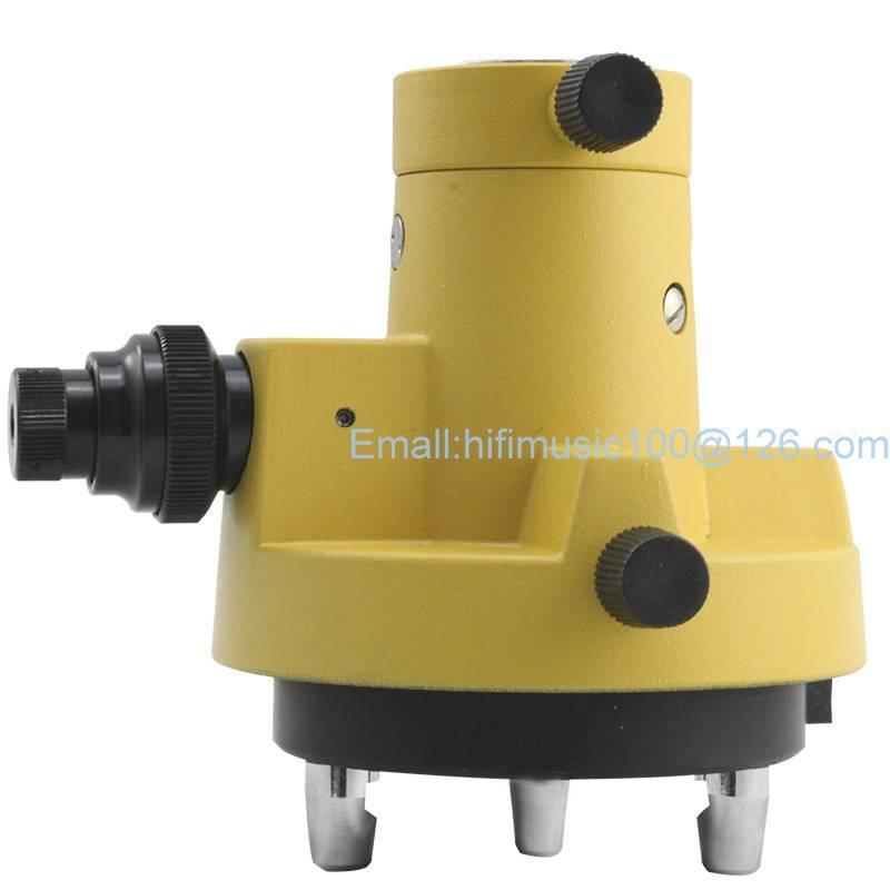 NEW GRAY THREE-JAW Tribrach Adapter W//Optical Plummet FOR topcon sokkia Prisms