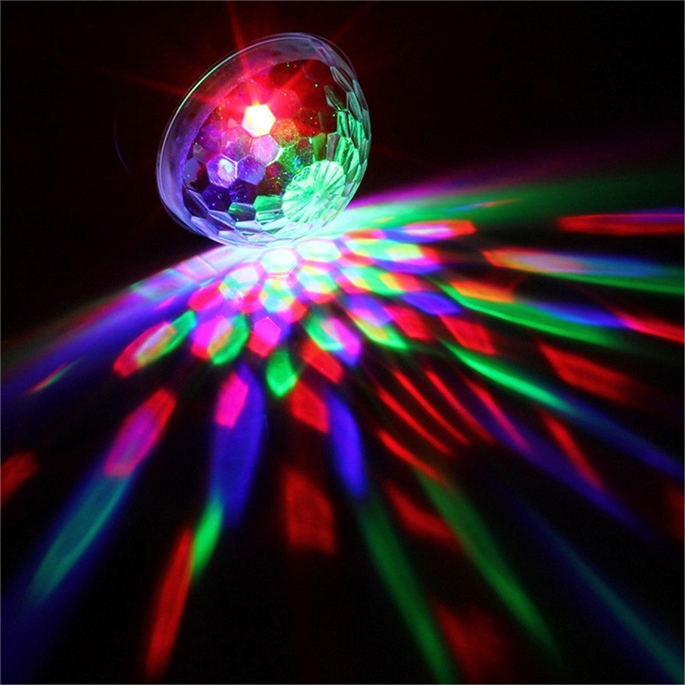 Decor Stage Light DJ Lighting LED Crystal Magic Ball Projector Stage Show Light Club Disco KTV mar16