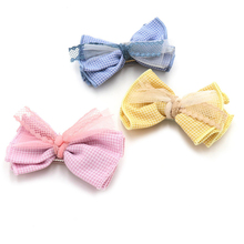 Dog Bow Hairpin Headdress Cat Pet Bowknot Hair Clip Teddy Grooming Accessories for girls baby
