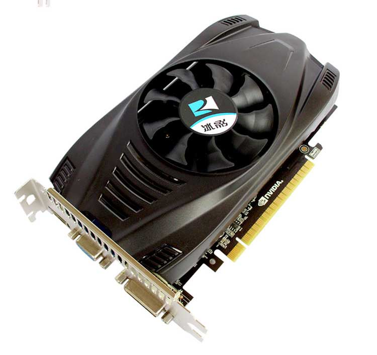 Promoción original tarjeta de video GTX 750TI 2 GB 128bit GDDR5 tarjetas de Video para NVIDIA GeForce GTX750Ti uso tarjetas VGA HDMI DVI