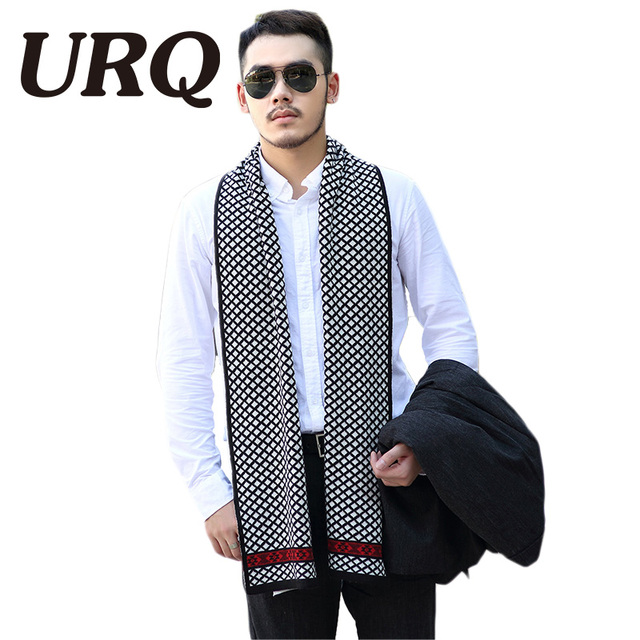 striped knitted warm men scarf winter luxury brand designer scarves Imitation Pashmina Shawls and Scarves 30*1802016 new arrival