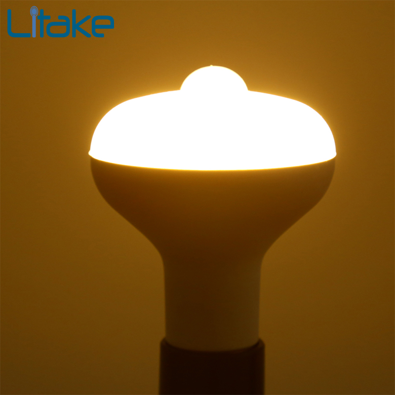 Litake LED Bulb Lamp Energy Saving Motion Activated Light Bulb E27 9W PIR Infrared Motion Sensor Light PIR Stairs Night Light litake led bulb lamp energy saving motion activated light bulb e27 9w pir infrared motion sensor light pir stairs night light