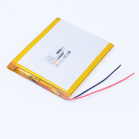 3 5x75x95mm 3 7V 3000mAh Polymer Li Ion Battery For Bluetooth Notebook Tablet PC Consumer Electronics