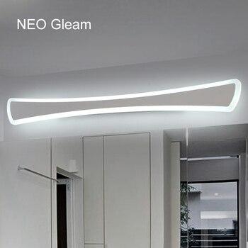 Moderne LED Spiegel Lichter 0,4 M ~ 1,2 M wand lampe Badezimmer  schlafzimmer kopfteil wand leuchte lampe deco Anti- nebel espelho banheiro