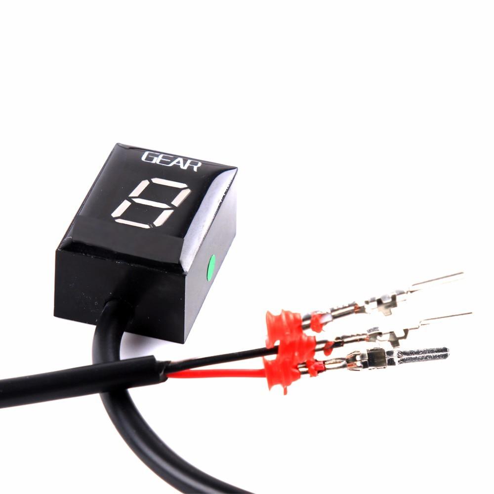 For Honda CB500X VFR 800 CB1000R CB400SF CBR650F CB600F CB650F Motorcycle 1-6 Level Ecu Plug Mount Speed Gear Display Indicator (13)