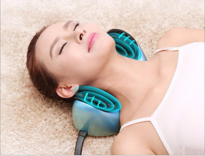 2018 Free Shipping Multifunctional Vehicle mounted Electric Neck Massage Pillow
