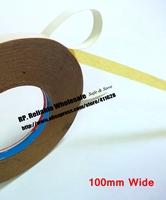100mm Wide 30M Strong Adhesive Oil Glue Tape For Cloth Embroidered Fabric Sewing Fasten Book Rubber