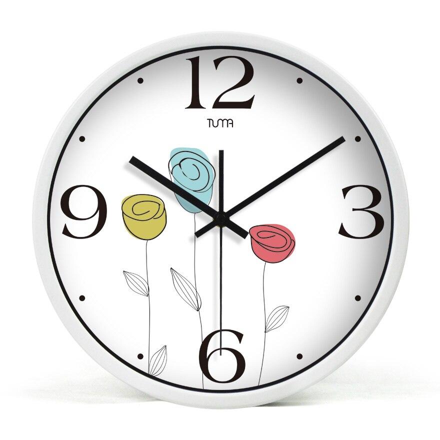 Horloge murale électronique silencieuse pour la maison Saati Klokken De Parede Saati Pared Salon intérieur décoratif horloge murale moderne DDN61