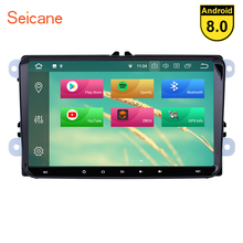 Seicane Android 8.1/8.0 Car GPS radio Navigation Unit Player for Seat Toledo Leon VW Golf Polo Passat Tiguan Sharan Caddy Cupra