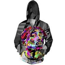 YX chica marca otoño California amor 3D impresión mujeres hombres Zip  sudaderas con capucha Hip Hop af8cb9bf25c
