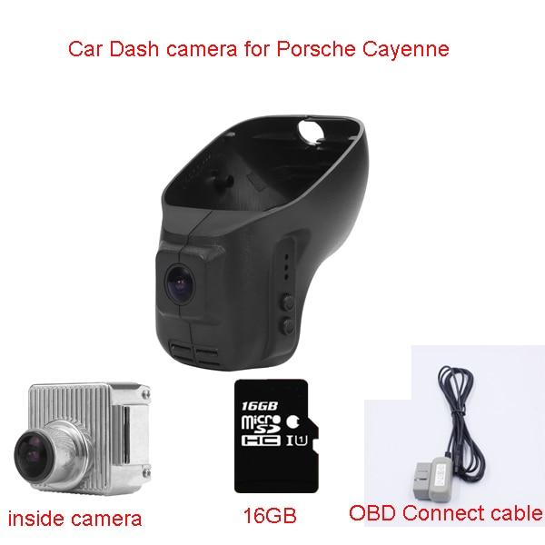 все цены на New OBD Car Dash Cam HD DVR Recorder For Porsche Cayenne(Year 2006-2010) With WIFI 16GB/32GB