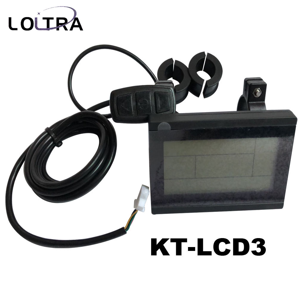 Electric bicycle KT LCD3 display 24V 36V 48V 60V 72V LCD Display Electric Bicycle Conversion Parts