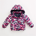 2016 Winter Down Jacket Boys Girls Down Coat Children Luxury Warm Jackets For Girls Winter Kids Down Jacket For Boys 50F1519
