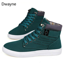 Dwayne Men's vulcanized shoes Spring/Autumn Men shoes High quality frosted suede casual shoes size 38-47